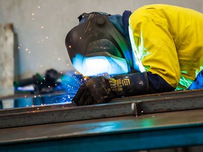 Steel Fabrication Welder