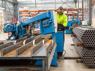 Steel Fabrication in Bibra Lake Workshop